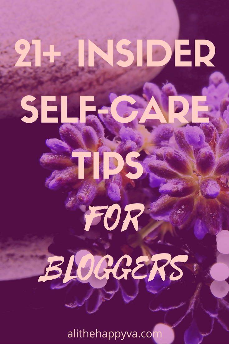 I loved this post! If you're feeling frazzled, check it out. Lots of great advice from bloggers, freelancers, writers, etc. Sometimes a hard run and a hot bath are al you need.