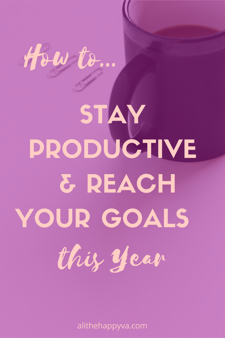 I don't know if it's spring fever or what, but I'm ready to get things done! This post has some helpful resources to keep me productive and headed towards reaching my goals. Whoo!