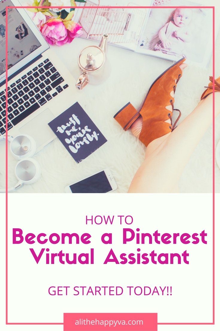 Learn how to make money from Pinterest! If you are interested in side hustling, freelancing or a starting a new online career, you can become a Pinterest virtual assistant.  via @ghorke