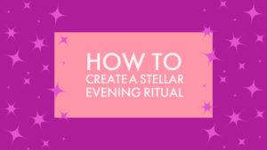 creating evening rituals
