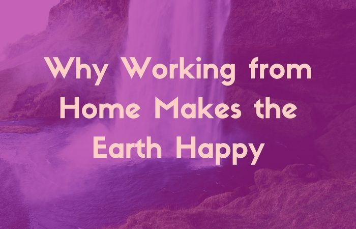 Working from home environmental benefits