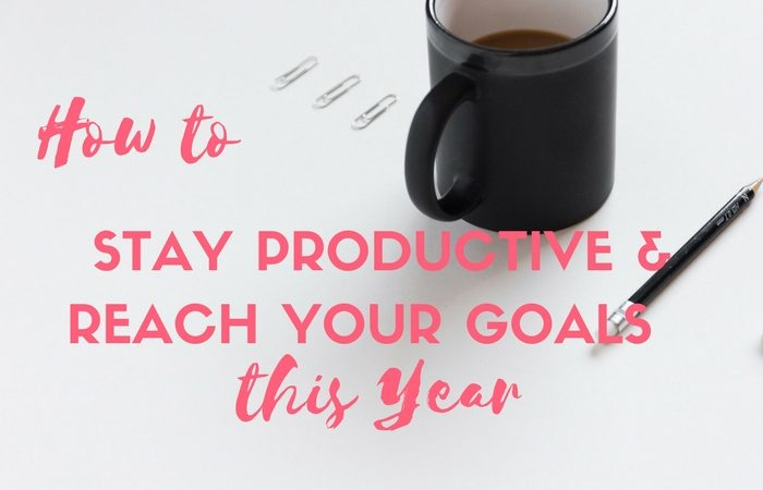 How to Stay Productive & Reach Your Goals this Year
