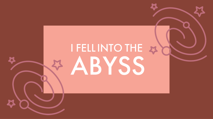 I fell into the abyss - The Artist's Way at Work